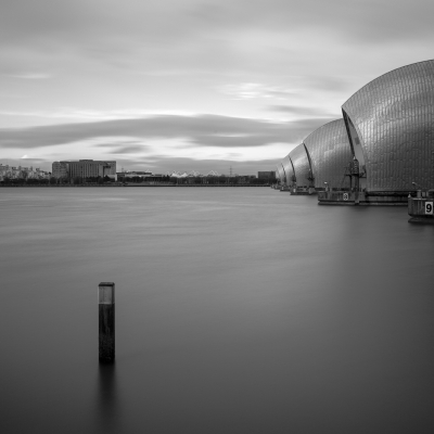 Thames Barrier Mono