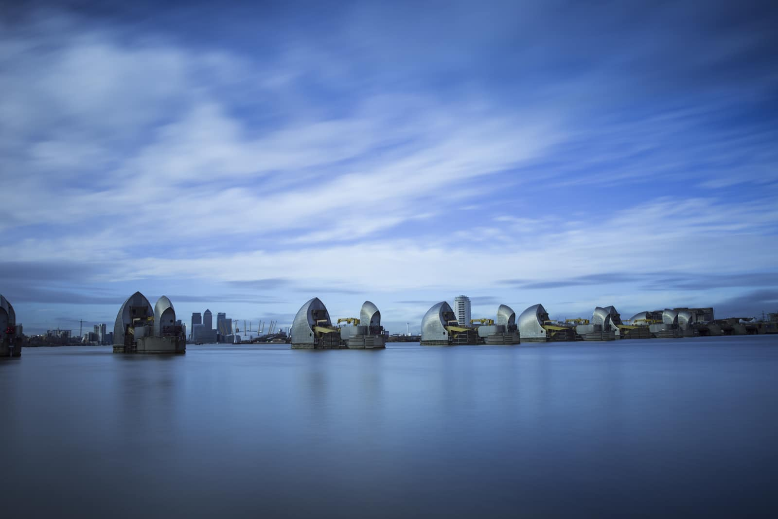 rich clark, thames barrier, abstract, rich clark images, landscape photography